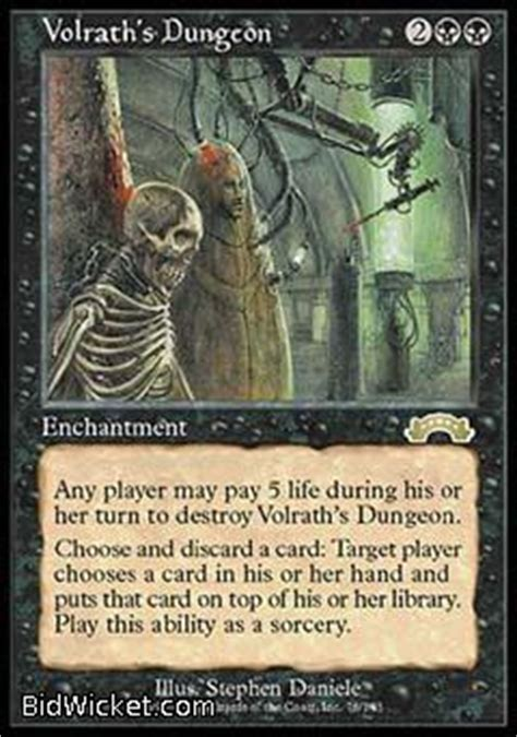 Magic The Gathering Starter Decks Target by Volrath S Dungeon