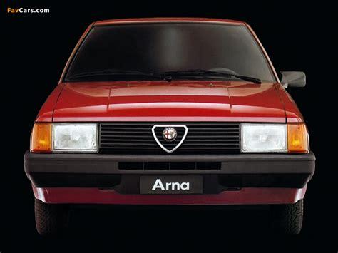 Photos of Alfa Romeo Arna SL 920 (1983–1987) (800x600)