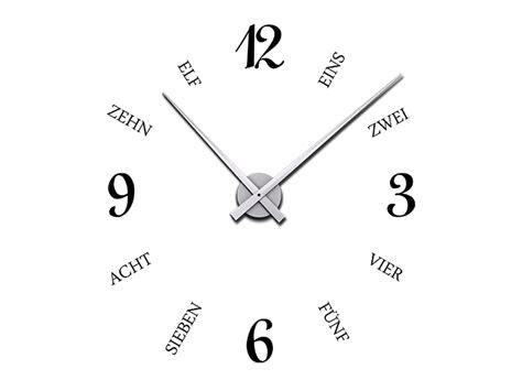 Uhr Mit Zahlen by Wandtattoo Uhr Mit Geschriebenen Zahlen Bei Homesticker De