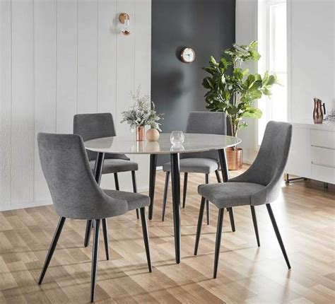 fantastic furniture dining table chairs monaco 5 piece dining set dining sets dining room
