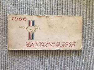 Buy 1966 Mustang Owners Manual Motorcycle In Lake Hughes  California  United States