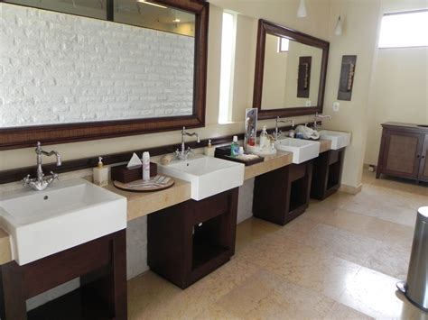 Bathroom Basins And Vanities by Fully Stocked Vanities For Commercial Bathroom