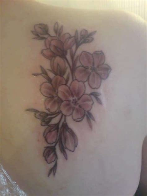 cherry blossom tattoo images designs