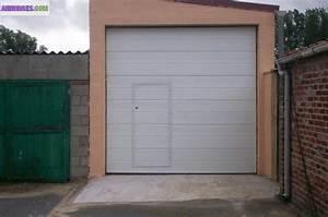 porte de garage sectionnelle avec portillon With porte garage sectionnelle avec porte de service