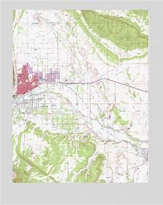 Canon City  Co Topographic Map