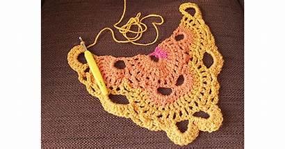 Shawl Virus Pattern Written Yarn Wool Crafts