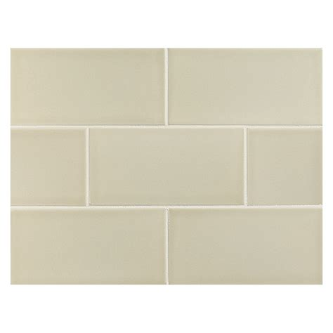 vermeere ceramic tile rawhide gloss 3 quot x 6 quot subway tile