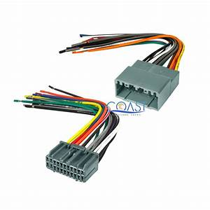 Car Stereo Radio Install Wiring Harness Combo For 2002