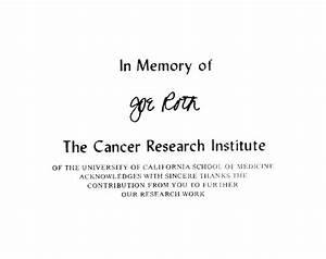thank you letter for donations in memory of letters of With donation made in memory of letter