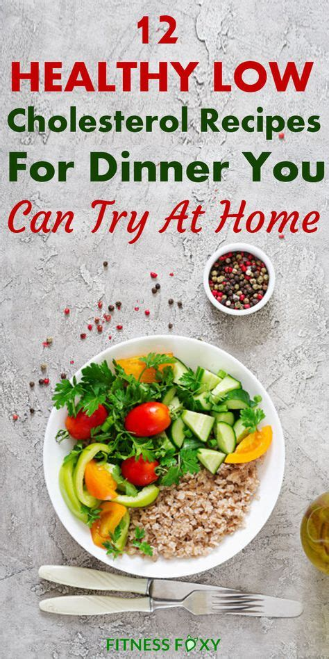 Hearty health heart low cholesterol recipes to eat for 10. Having low-carb dinner recipes is a must for staying fit and healthy! Serve any of these …   Low ...