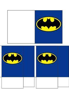 batman gift box template votive candle box template gifts pinterest box