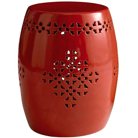 pier one garden stools scarlet fever a color story the stiers aesthetic