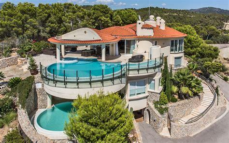 formal dining room 15 million hilltop mansion in mallorca spain homes of