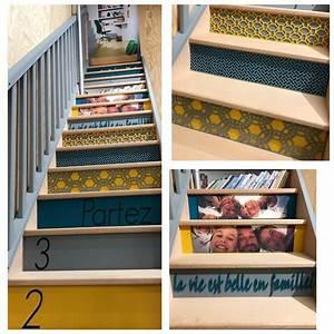 Contre Marche Deco : the 25 best ideas about contre marche on pinterest deco escalier renovation escalier bois ~ Dallasstarsshop.com Idées de Décoration