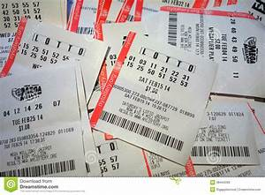 Lottery Tickets Editorial Stock Image - Image: 38444399