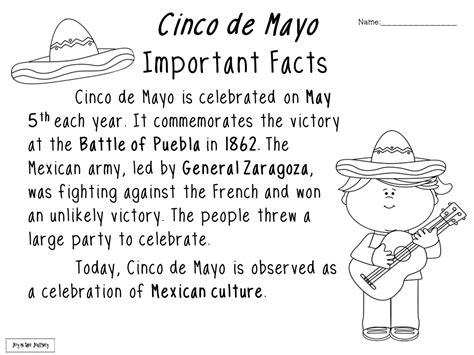 cinco de mayo activities these activities can be used for 599 | 1a9317fa829ee7bb83abf1f023c5c6f0