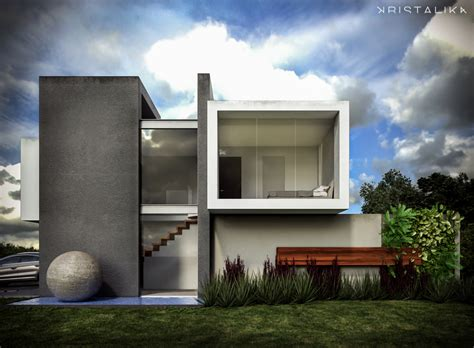 modern for cf house architecture modern facade contemporary house design kristalika arquitecture