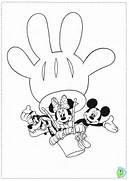 Printable Mickey...Mickey Mouse Coloring Letters