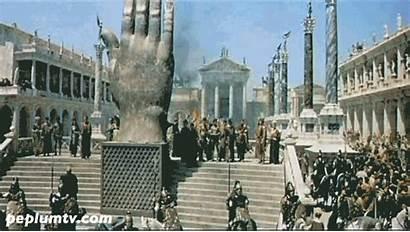 Roman Empire Animation Fall Emperor Peplum Rome
