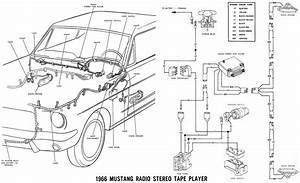 New Wiring Harness 1966 Ford Galaxie 1965 Ford Mustang Wiring Harness Wiring Diagram