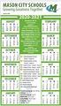 Mason Calendar 2021   Calendar 2021