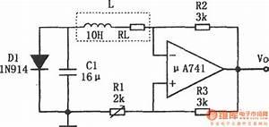 Simple Sine Wave Generator Composed Of  U03bca741