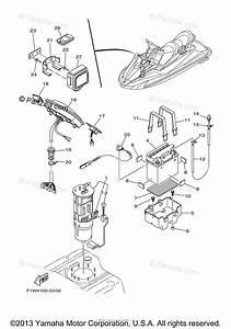 Yamaha Waverunner 2009 Oem Parts Diagram For Electrical