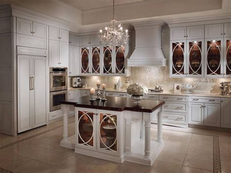 kitchen glass cabinet lighting white country kitchens decoration ideas diy home decor