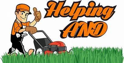 Clipart Odd Job Gardener Garden Gardening Helping