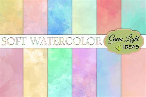 soft watercolor digital papers  images digital