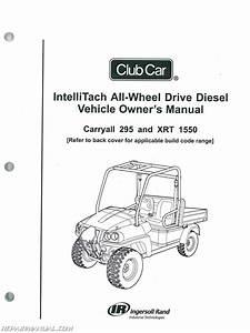 Club Car Carryall 295 Intellitach Xrt 1550 Intellitach