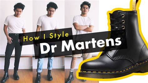 How Style Martens Boots Pascal Combat