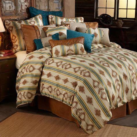 western comforter sets alamosa western bedding rustic comforter set