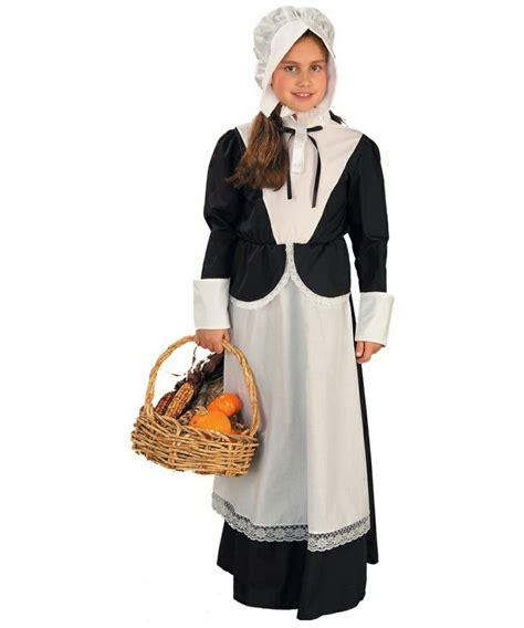 colonial pilgrim girl kids costume girl colonial costumes