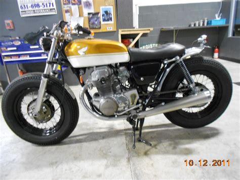 1972 honda cl350 honda cb350 brat style bobber 4 wheels move the but 2 wheels move the