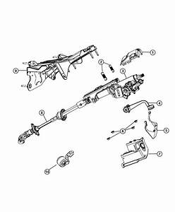 Jeep Liberty Bracket  Steering Column  Export  Right Hand
