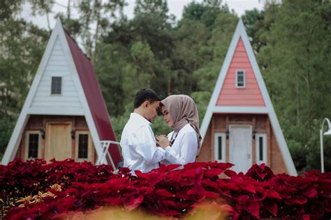 tempat prewedding  malang romantis outdoor indoor