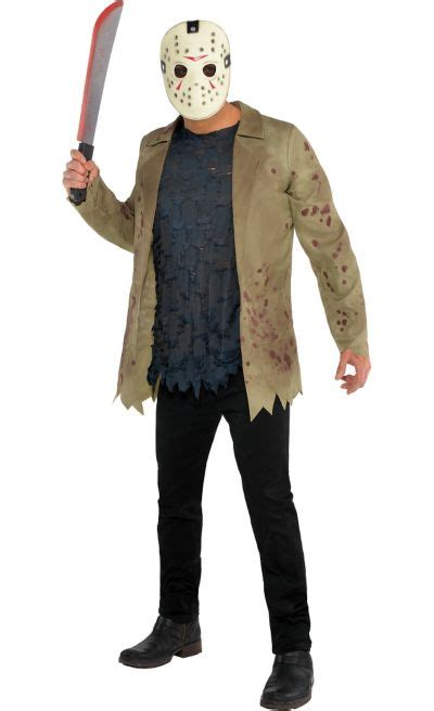 adult jason voorhees costume friday   party city