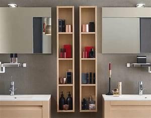 Demi Colonne Salle De Bain : meuble colonne salle de bain delpha ~ Premium-room.com Idées de Décoration
