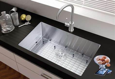 stainless undermount kitchen sink stainless steel kitchen sinks guide the kitchen 5738
