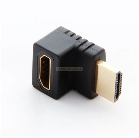 Hdmi Cable Angle Connector by 90 270 Degree Right Angle Angled Hdmi To