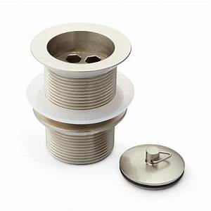 1-1  2 U0026quot  Brass Drain With Plug - Without Overflow