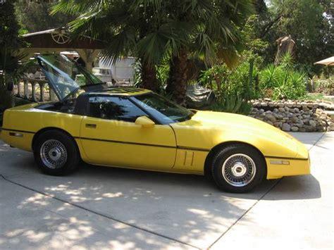 corvettes craigslist mock rear engine 1985 corvette corvetteforum