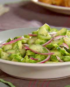 Cucumber and Dill Red Onion Salad