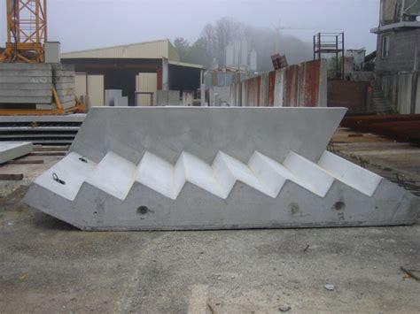 escalier beton prefabrique maison design goflah
