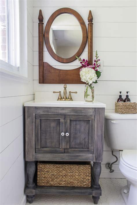 ana white diy bathroom vanity featuring shades  blue