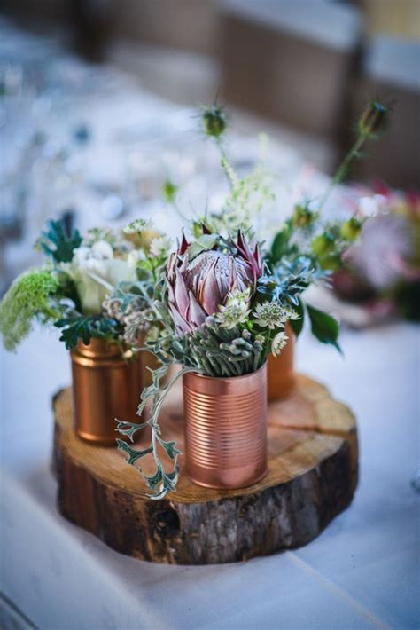 trending  metallic bronze  copper wedding color ideas