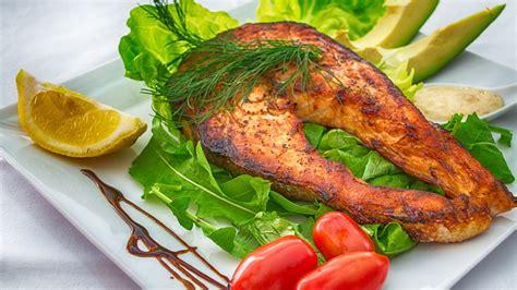 menu diet sihat ikan salmon grill zon fitness info