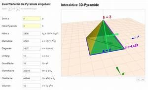 Wasservolumen Berechnen : neues geometrie programm pyramiden online berechnen aus nur 2 werten inkl 3d darstellung ~ Themetempest.com Abrechnung