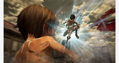 Areas in the game include the forest, trost, and atop the wall where you face the horror of the colossal titan. Attack On Titan Game Wings Of Freedom Free Download
